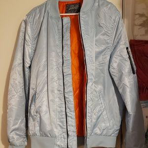 Flight style jacket.